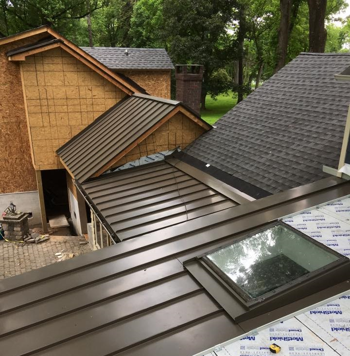 Picking the right color for your new metal roof dymi for Roof right