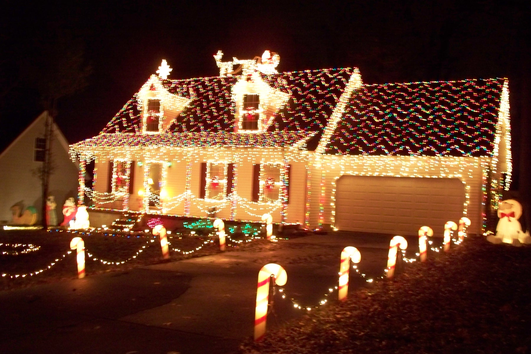 Xmas Roof Lights